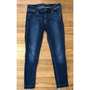 Articles of society raw hem stretch skinny jeans